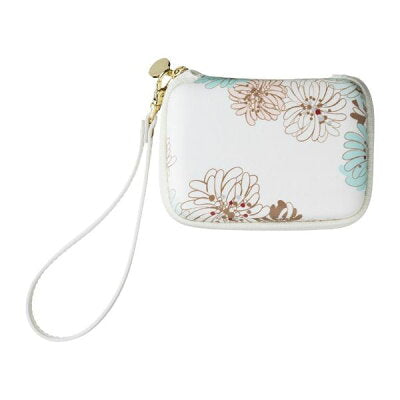 Mobile Pouch - Crysanthemum | White | 正價