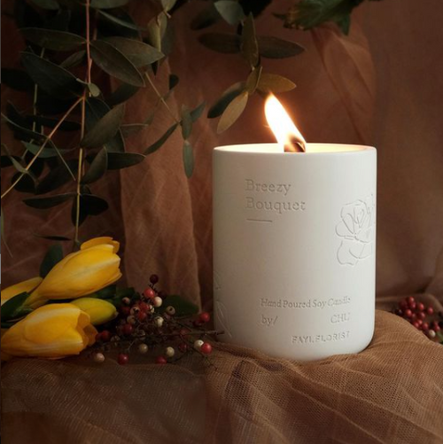 CHU Aromatherapy | Breezy Bouquet Aromatique Candles