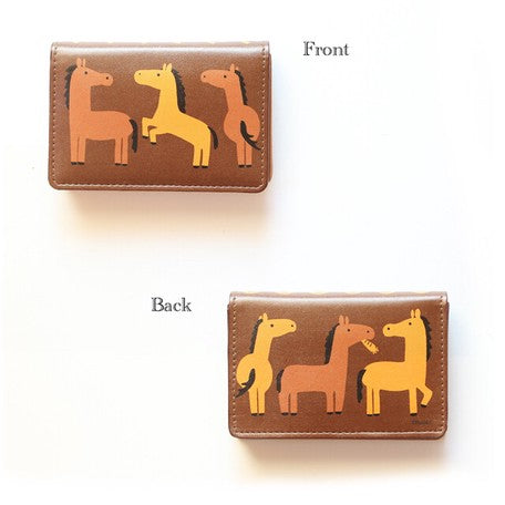 Little Animal | Business Card Case | Horse Brown | 正價