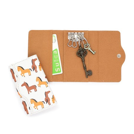 Little Animal | Key Case | Horse White | 正價