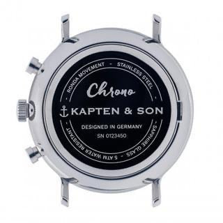 Kapten & Son | Chrono Watches | Sand Woven Leather (4579424665674)