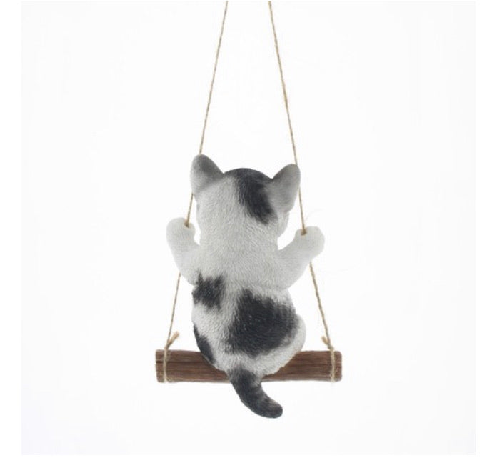 Children Ornaments | Cute Kitten |  Gray White Sabashiro | 正價