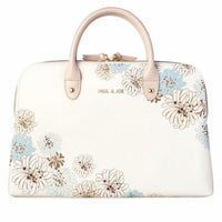 Carrying Case - Chrysanthemum | White