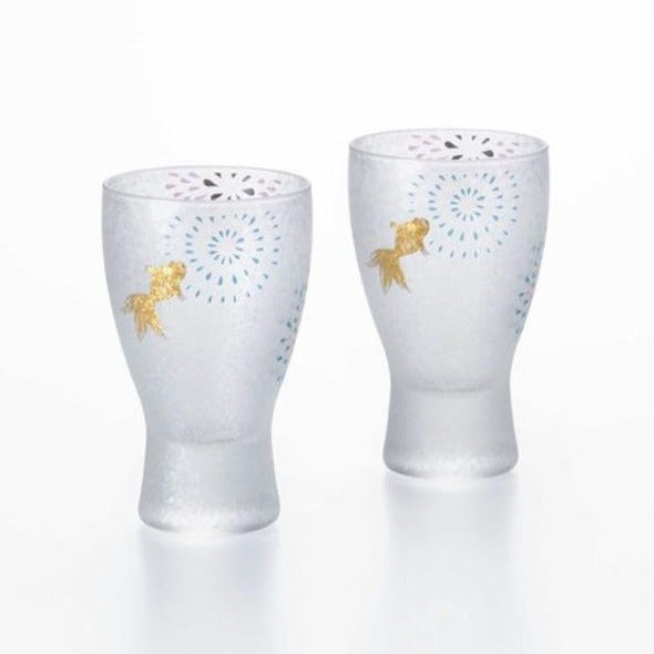 Firework Square | Sake Glass Pair Set | 正價