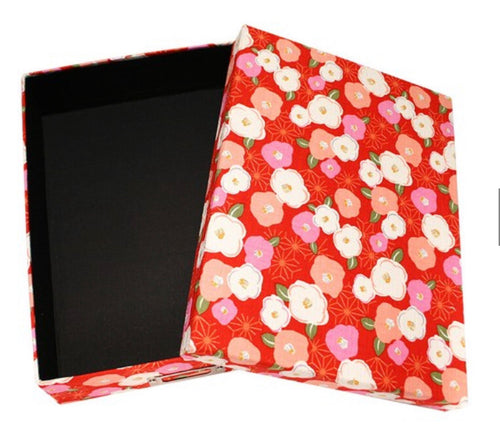 Floral Pattern Book Box | Pink | 正價