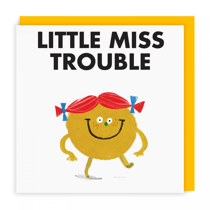 Mr Men Cards | Little Miss Trouble