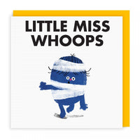 Mr Men Cards | Little Miss Whoops