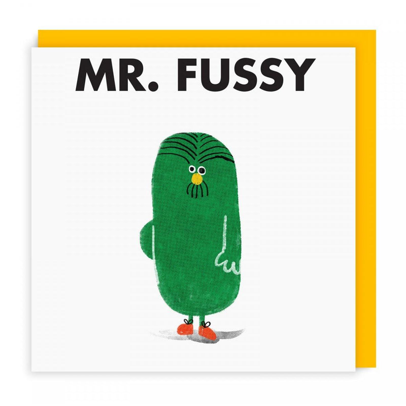 Mr Men Cards | Mr Fussy