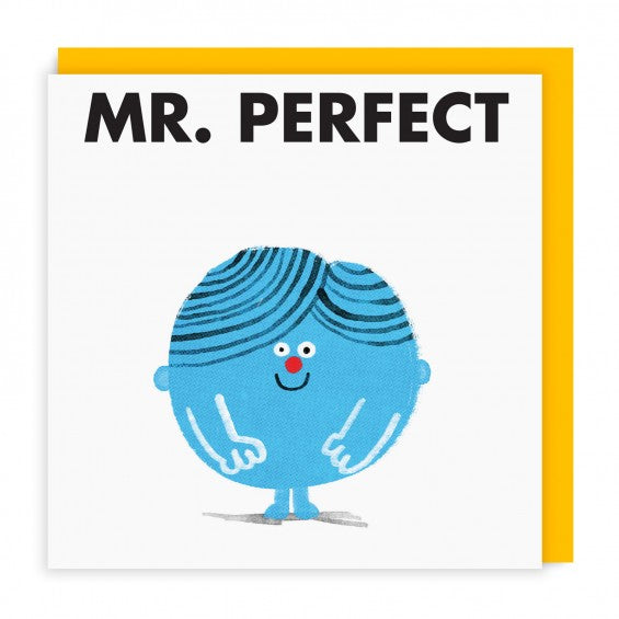 Mr Men Cards | Mr Perfect