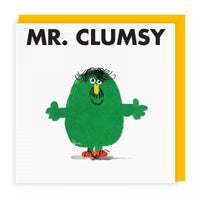 Mr Men Cards | Mr Clumsy