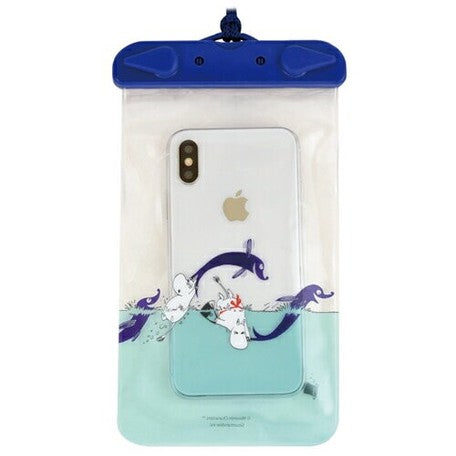 Moomins | Waterproof Smartphone Pouch | Dolphin | 正價 (4661292302410)