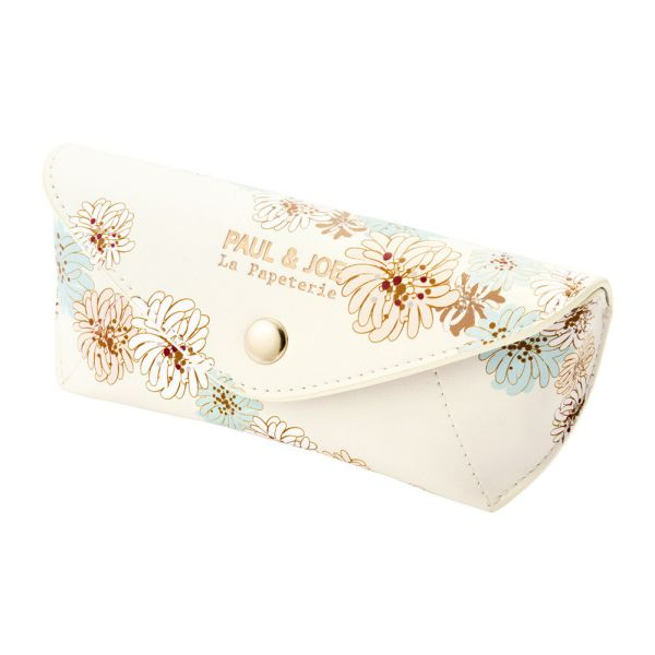 Glasses Case - Chrysanthemum | White