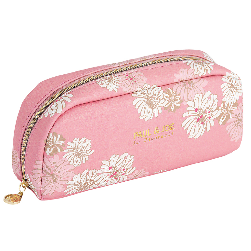 Pen case M- Chrysanthemum | Pink