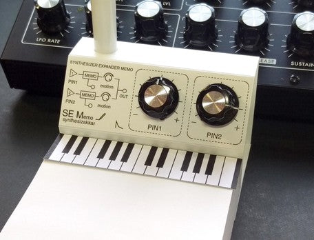 Memo Pad & Pen Holder | Synth Knob Pin | 正價