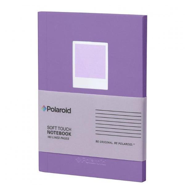 Soft Touch Small Notebook Purple