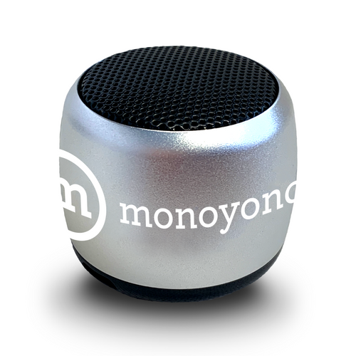 【Coming Soon】Monoyono Mini Speaker | Silver (4802359033930)