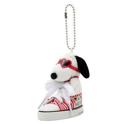 Snoopy | Key Ring | Heart Glass Sneaker | 正價