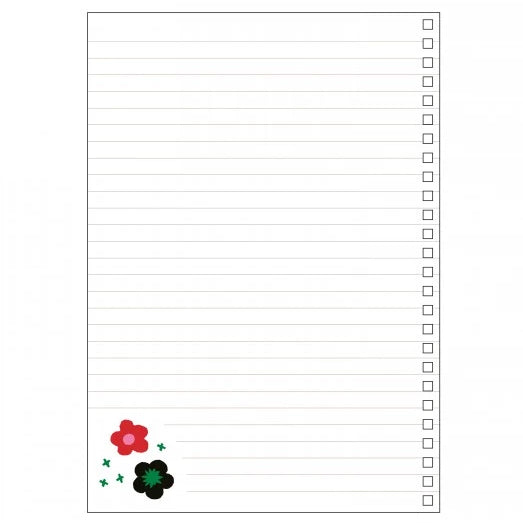 A5 Notebook - Daisy in the field (562249826338)