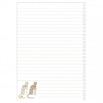 A5 Notebook - Sister Cats (238628438027)