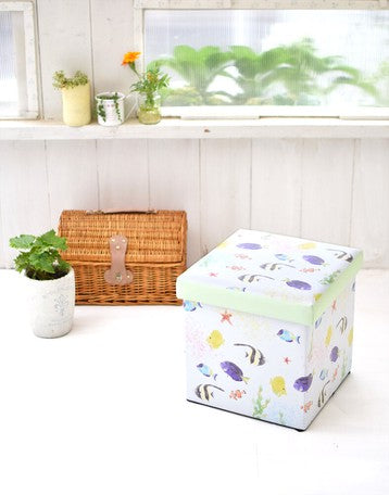 Tomo Corporation | Storage Stool | Tropical Fish | 正價 (4679891189834)