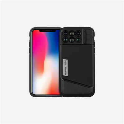 Iphone x 6 in 1 lens case