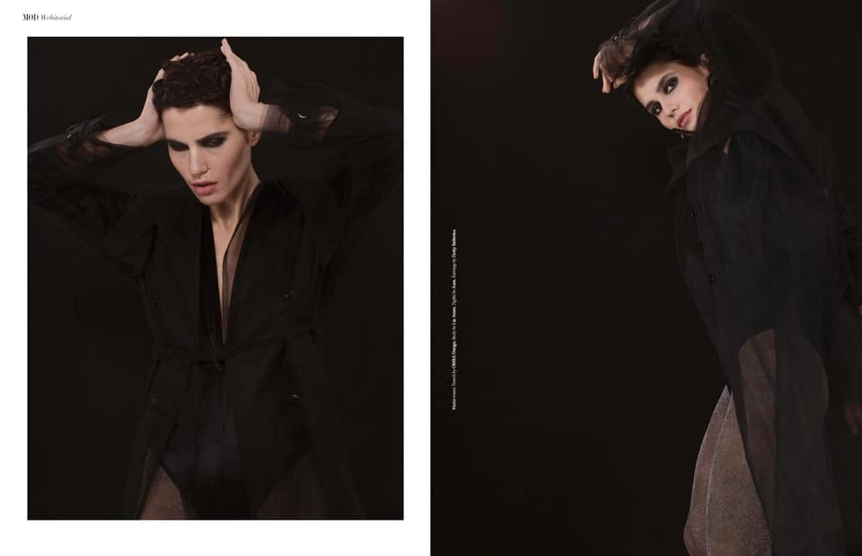 OMRA trench featured in MOD Magazine