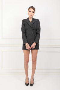 Katja double breasted woolen dress jacket