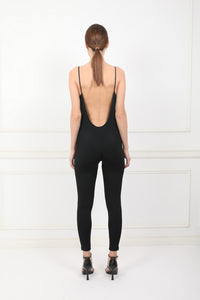 Lakshmi all-in-one black jumpsuit