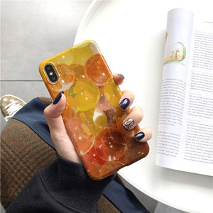 Fashion Fantasy Bubbles Case For iPhone Series