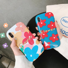 画像をギャラリービューアに読み込む, Glossy Fashion Cute Arc Summer Flower Case For iPhone Series