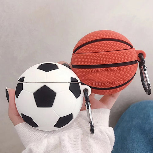 Fashion New Basketball Football Case For AirPods