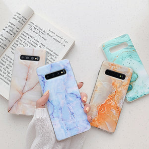 Fashion Marble Chic Stone Pattern Case For Samsung Galaxy Series