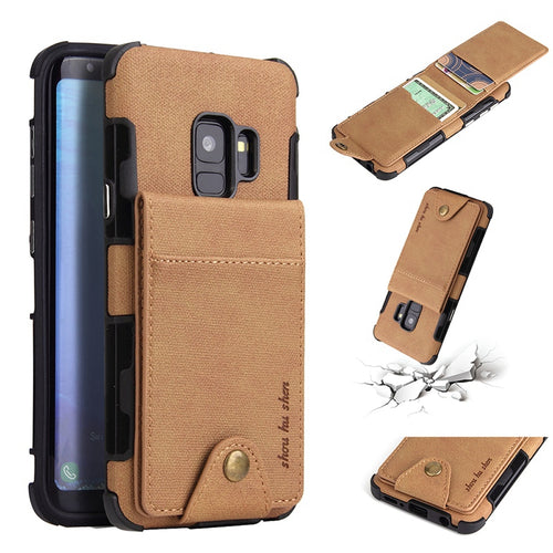 Luxury Wallet Card Case For Samsung Galaxy Series