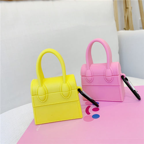 Fashion Lovely 3D Girl Handbag Case For AirPods