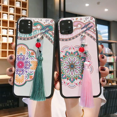 Fashion Chinese Style Elegant Case With Tassel For iPhone Series