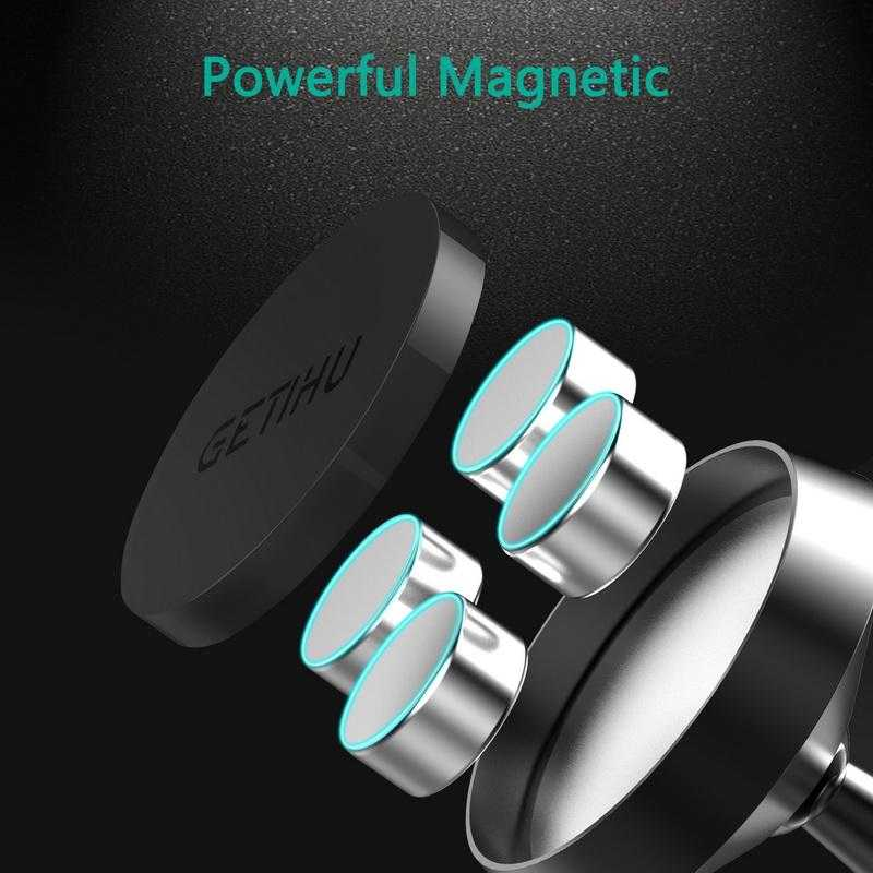 Mini Dashboard Car Holder Magnet Magnetic Cell Phone Mobile Holder Universal For iPhone | VIVITODAY