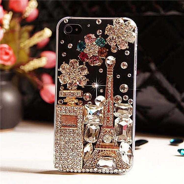 Perfume Rhinestone Case Phone Cover For Samsung Galaxy S3 S4 S5 S6 S7 Edge Plus S8 Note | VIVITODAY