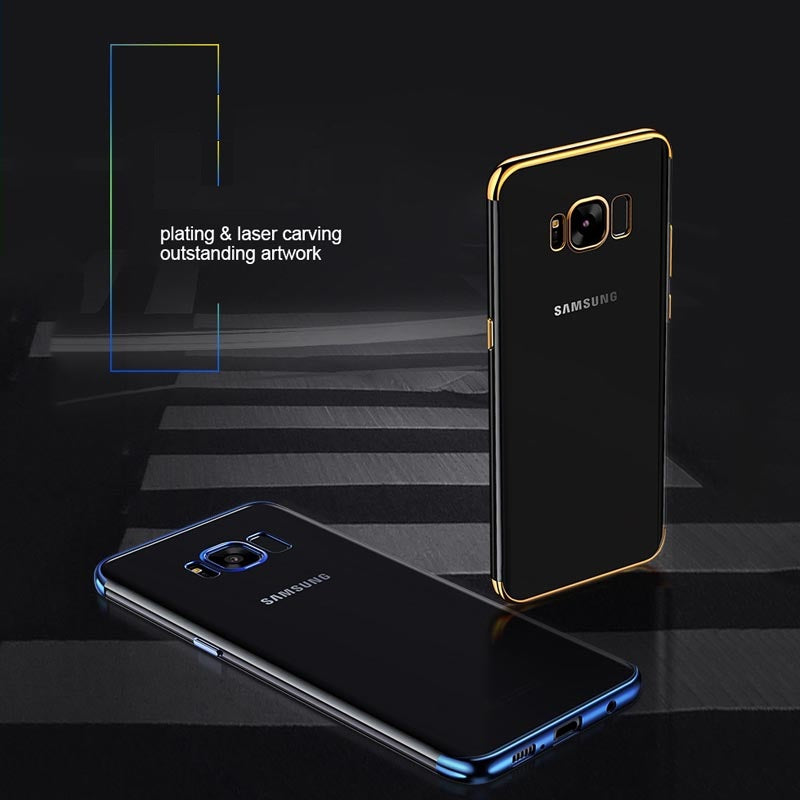 Fashion Laser Carving Soft TPU Back Case For Samsung Galaxy S 6 - 9 Plus | VIVITODAY