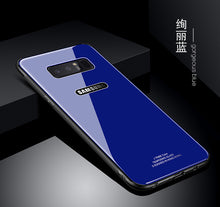 画像をギャラリービューアに読み込む, Luxury Tempered Glass Case Phone Cover for Samsung Galaxy Note 8 S8 Plus | VIVITODAY