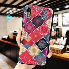 画像をギャラリービューアに読み込む, Multi-Color Flower Rhombus Pattern Case Case For iPhone Series