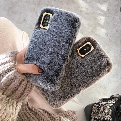 Winter Warm Cute Furry Case for iPhone XS MAX - 6 | VIVITODAY