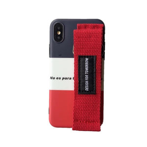Fashion Sports Case With Wrist Strap For iPhone Series