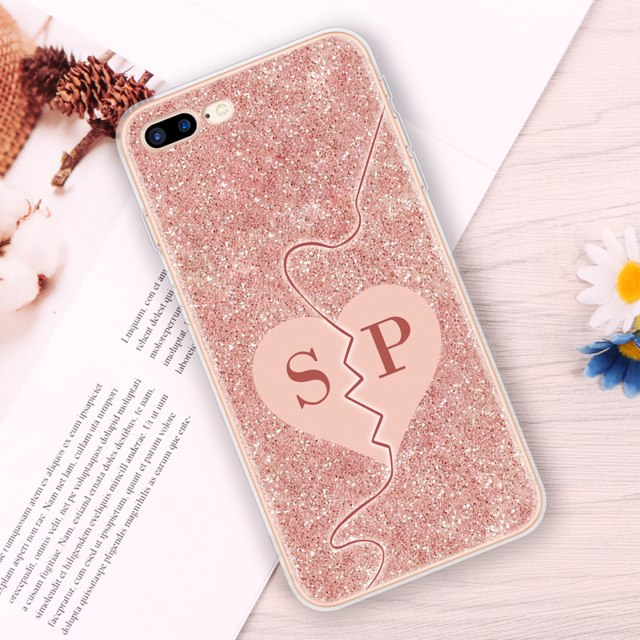 Glitter Pink Case for iPhone 5-XS Max XR
