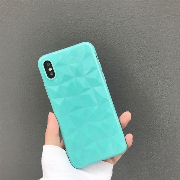 3D Diamond Pattern Case for iPhone 6-X