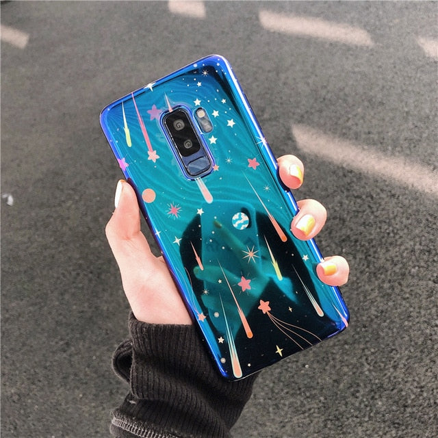 Laser Space Planet Star Case For Samsung Galaxy Series