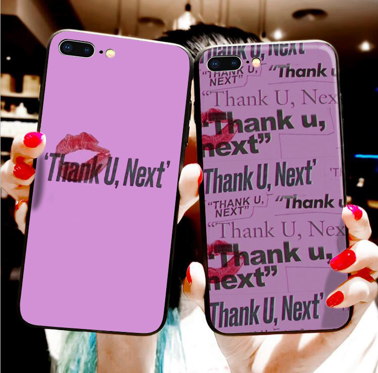 Fashion Ariana Grande Style Thank U, Next Case For iPhone Series