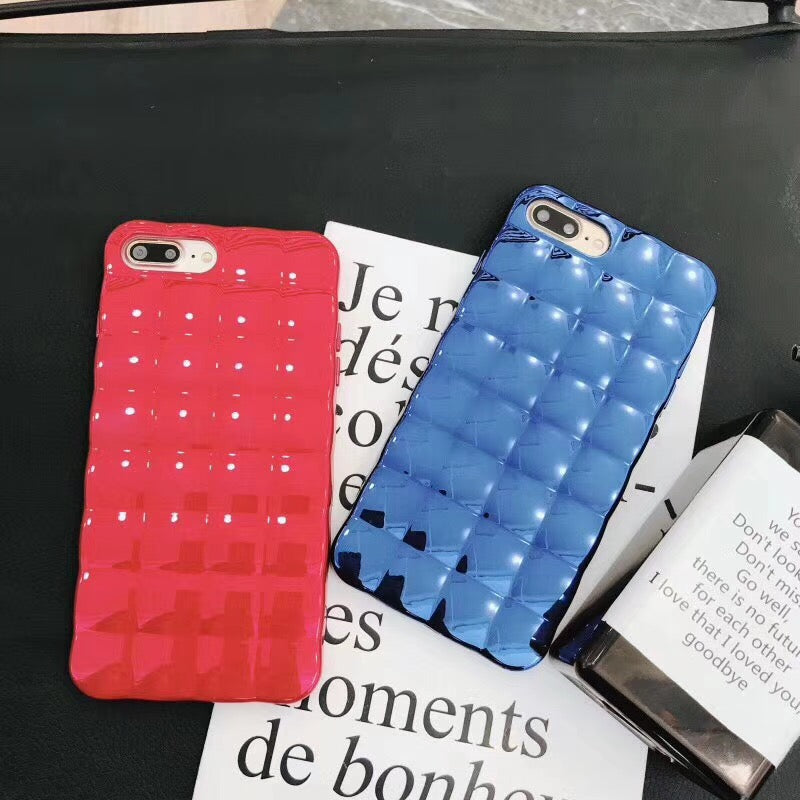 Luxury Fashion Electroplate Glossy Case For iPhone Series