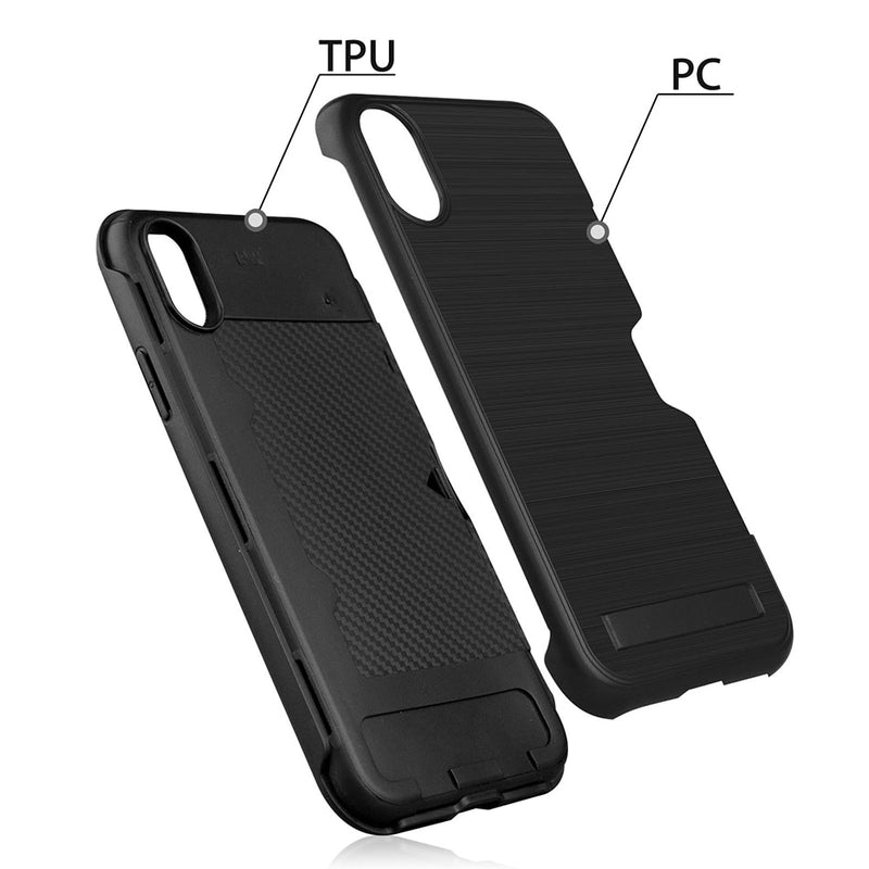 Fashion Luxury Ultra-thin Cases With Kickstand For iPhone Series