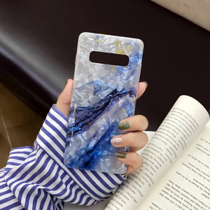Fashion Retro Marble Cases For Samsung Galaxy Series