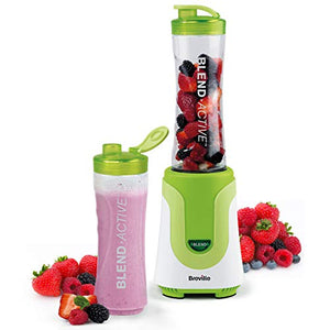 Breville Blend Active Personal Blender & Smoothie Maker with 2 Portable Blending Bottles (600ml)